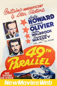 49th Parallel-Poster new movies on demand
