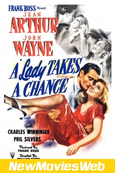 A Lady Takes a Chance-Poster new movies on dvd
