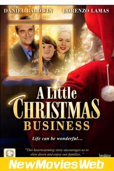 A Little Christmas Business-Poster 2021 new movies