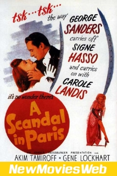 A Scandal in Paris-Poster new english movies