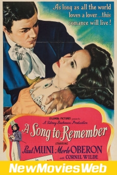 A Song to Remember-Poster new horror movies