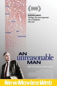 An Unreasonable Man-Poster new animated movies