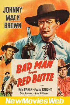 Bad Man from Red Butte-Poster new action movies