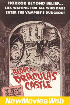 Blood of Dracula's Castle-Poster best new movies on netflix