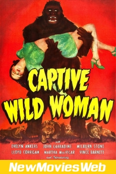 Captive Wild Woman-Poster best new movies