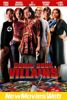 Comic Book Villains-Poster new movies on dvd