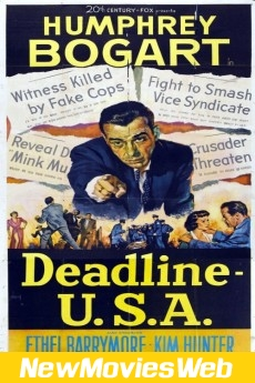 Deadline - U.S.A.-Poster new movies on dvd
