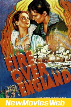 Fire Over England-Poster new movies