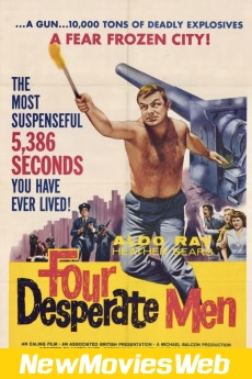 Four Desperate Men-Poster new movies on dvd