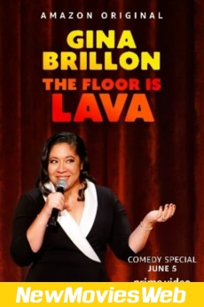 Gina Brillon The Floor is Lava-Poster new movies on dvd