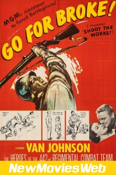 Go for Broke!-Poster new movies on dvd