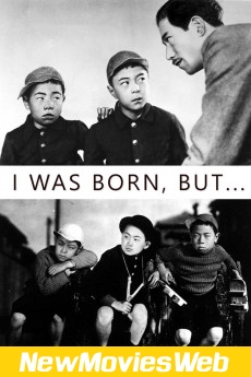 I Was Born, But...-Poster new movies in theaters