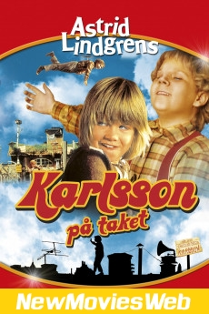 Karlsson on the Roof-Poster new comedy movies