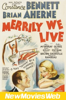 Merrily We Live-Poster new action movies