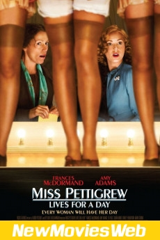 Miss Pettigrew Lives for a Day-Poster new movies on netflix