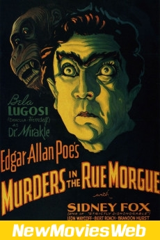 Murders in the Rue Morgue-Poster new movies 2021