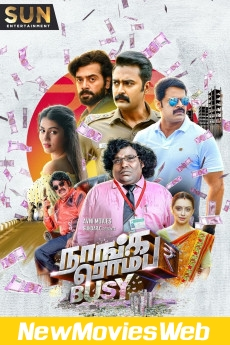 Naanga Romba Busy-Poster new movies on dvd