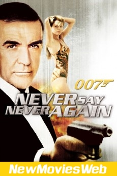 Never Say Never Again-Poster new movies online