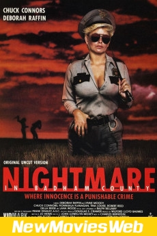Nightmare in Badham County-Poster new movies 2021