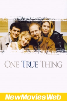 One True Thing-Poster new scary movies