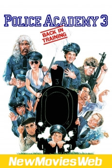 Police Academy 3 Back in Training-Poster new animated movies