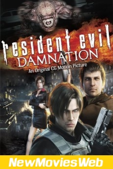 Resident Evil Damnation-Poster new movies 2021