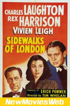 Sidewalks of London-Poster new hollywood movies 2021
