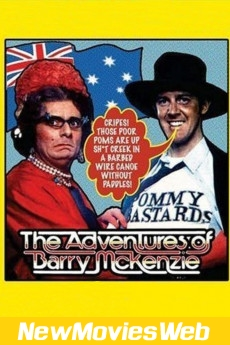 The Adventures of Barry McKenzie-Poster free new movies online