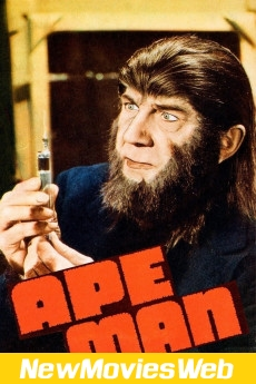 The Ape Man-Poster new movies 2021