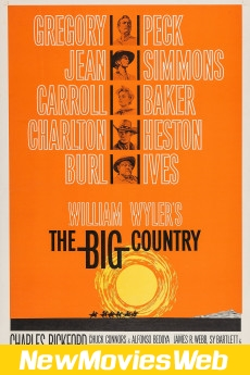The Big Country-Poster new english movies