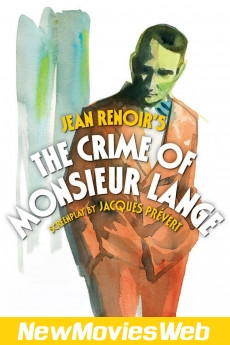 The Crime of Monsieur Lange-Poster free new movies online