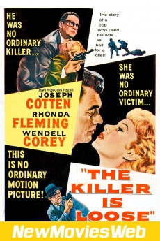 The Killer Is Loose-Poster new movies to stream