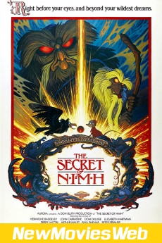 The Secret of NIMH-Poster new movies to watch