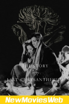 The Story of the Last Chrysanthemum-Poster new action movies