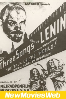 Three Songs About Lenin-Poster new comedy movies