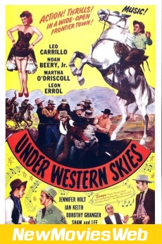 Under Western Skies-Poster new movies on dvd