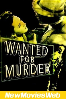 Wanted for Murder-Poster new action movies